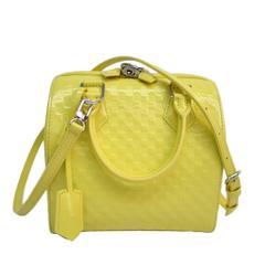 c8bf7e5449da Louis Vuitton Limited Edition Yellow Speedy Cube Satchel Crossbody Shoulder  Bag
