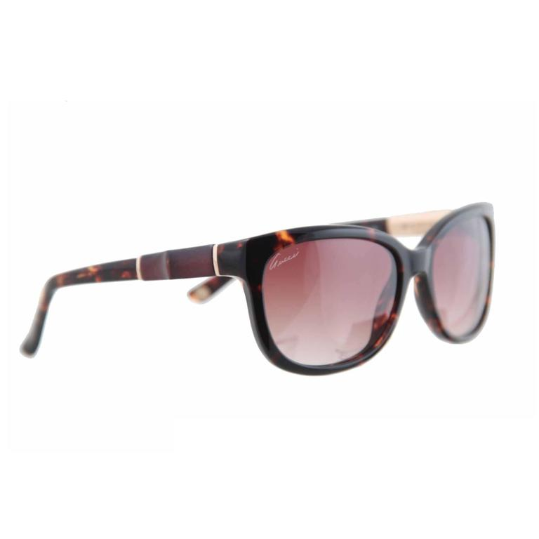 846d9ea5b5e GUCCI BIO-BASED sunglasses GG3672 KUJ N8 62 16 130 Bamboo Detail w  CASE  For Sale at 1stdibs