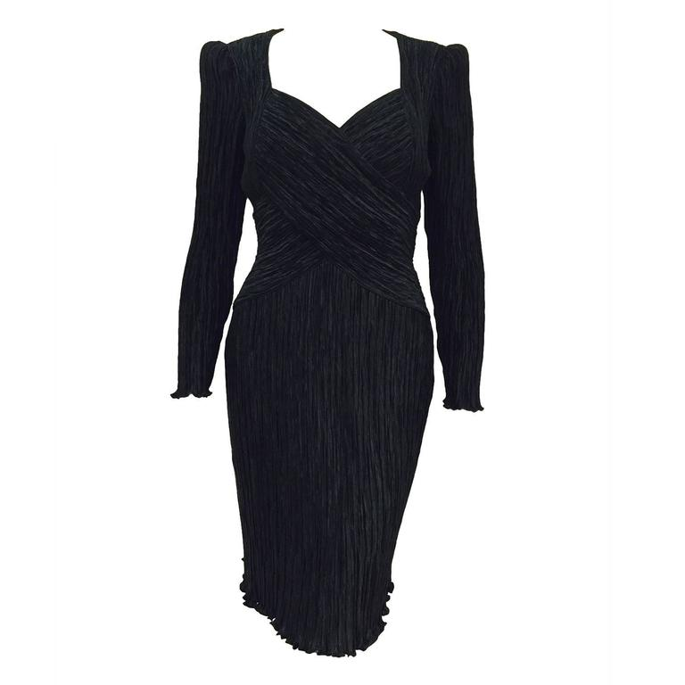 Vintage Long Sleeve Cocktail Dresses