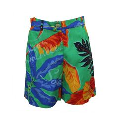 Byblos Tropical Print Short