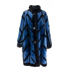 Christian Dior Shaved Sheepskin Coat