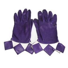 Hermes Arlequin Unique & Collectable Gloves 1980