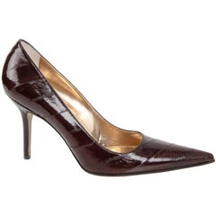 Dolce&Gabbana Shoe Signature Pump Eel Skin  40 / 10 New