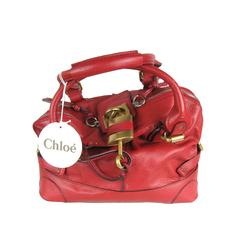 Chloe Red O/S  Padington Handbag New Old Stock
