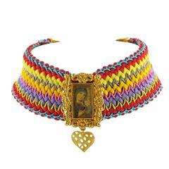 Christian Lacroix Paris 1980s Couture Necklace