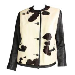 1960's Cowhide & Leather Jacket