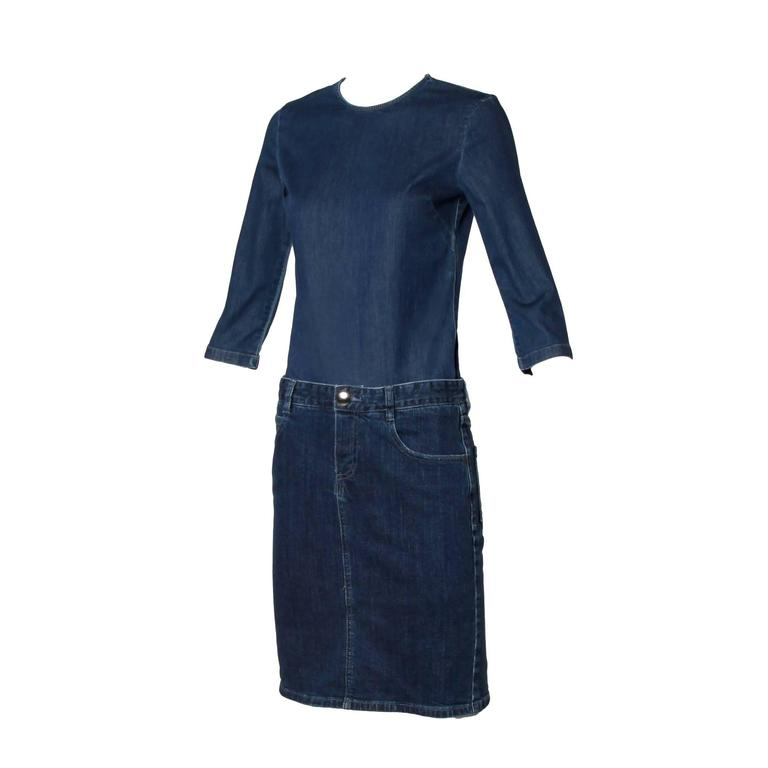 Stella McCartney Denim Jeans Dress