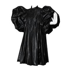 Dramatic James Galanos Vintage Avant Garde Coat with Massive Balloon Sleeves