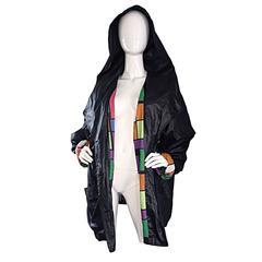 Vintage 1990s Jean Charles de Castelbajac Hooded Raincoat Rain Jacket / Coat