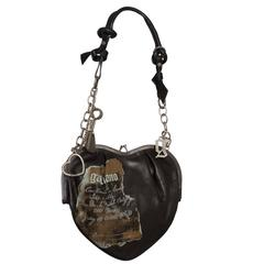 1990s John Galliano Heart Shaped Novelty Bag