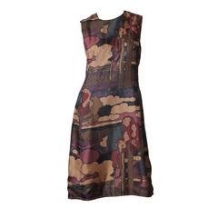 1960s Liberty of London Silk Dress