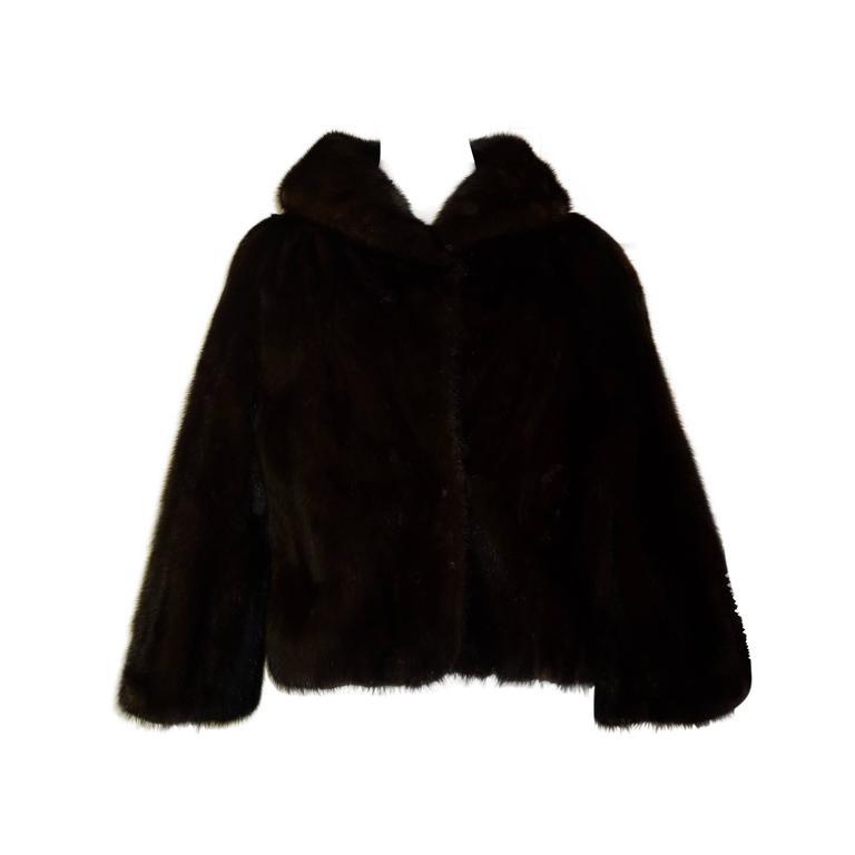Superb 1950s Schiaparelli Mink Jacket