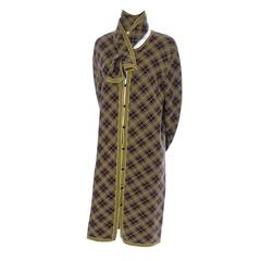 Yves Saint Laurent YSL Deadstock Vintage Kaftan Mens Caftan and Scarf 42 Unisex