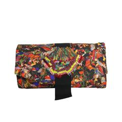 Dries Van Noten Multi-Colour Embroidered Sequins Clutches
