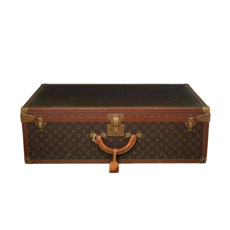 Louis Vuitton Vintage Monogram 80cm Hard Suitcase