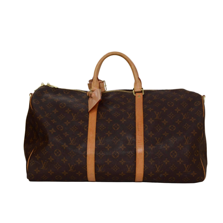Louis Vuitton Monogram Canvas 50cm Keepall Luggage GHW at 1stdibs