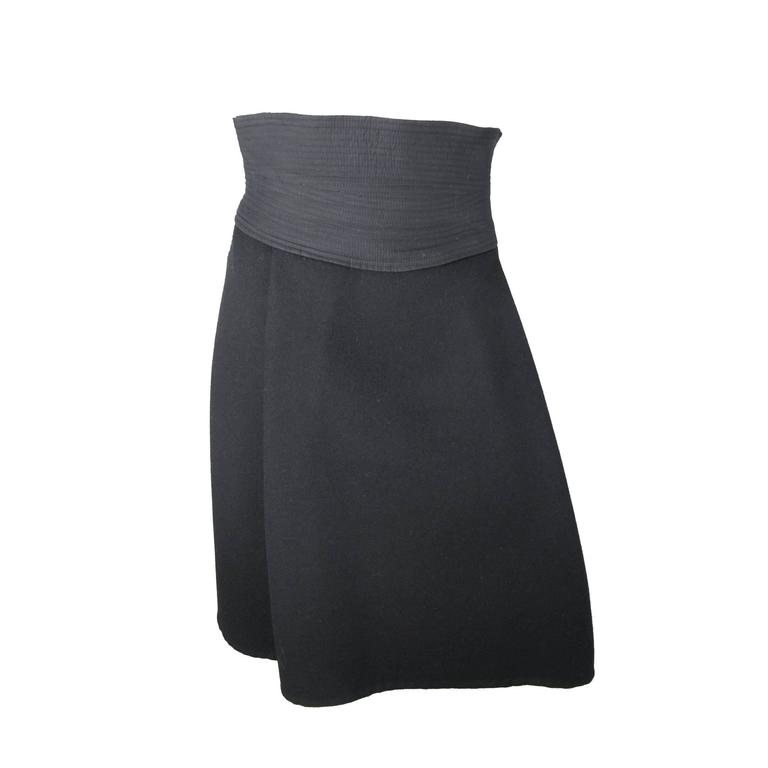Louis Vuitton Heavy Cashmere Skirt 1