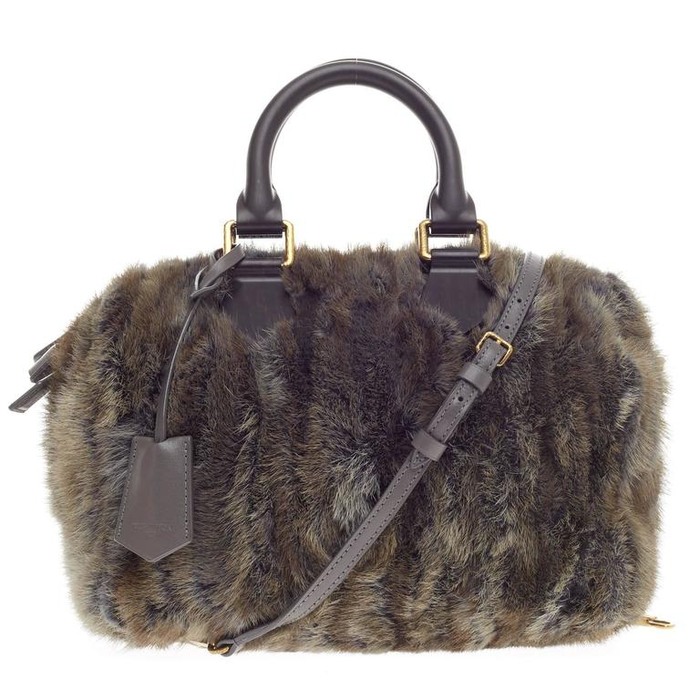 Louis Vuitton Speedy Limited Edition Caresse Mink 25 1
