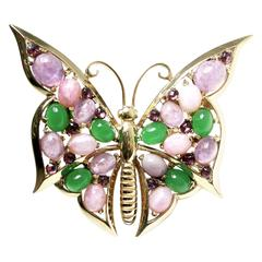 Vintage 60s Boucher Butterfly Pin