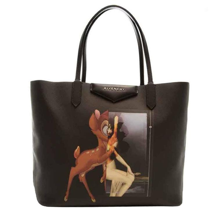 3b9134dc8f Givenchy Black Bambi Tote at 1stdibs