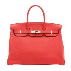 Hermes Rose Jaipur Birkin Bag 35cm