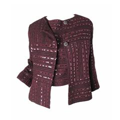 Chanel Sequin Twin Set Jacket and Top
