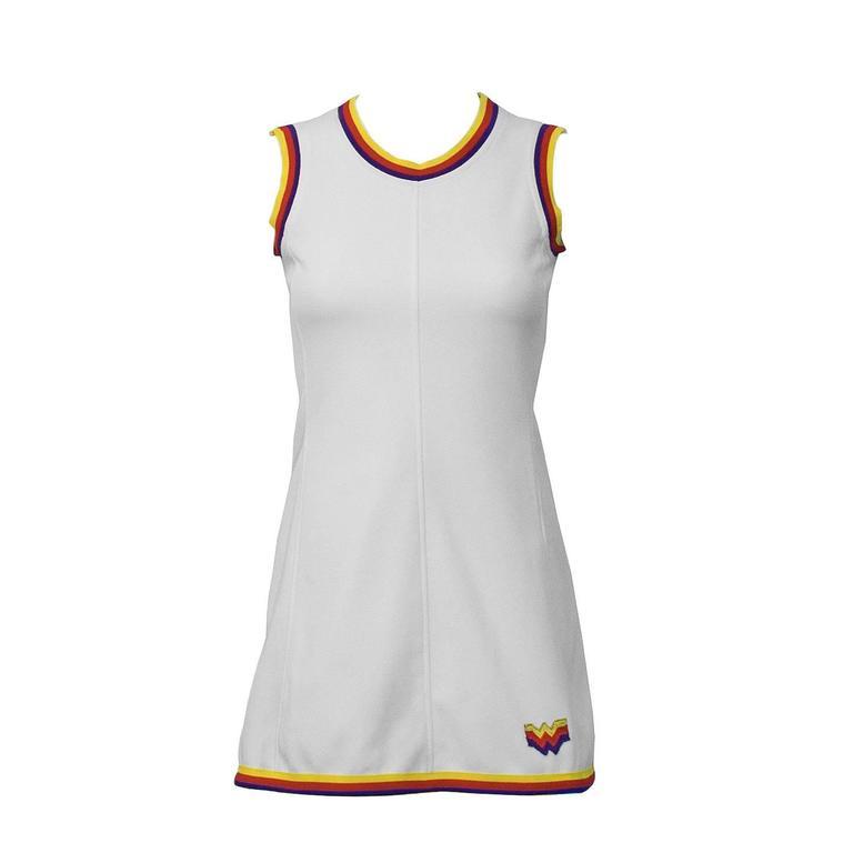 1960's Bogner White Tennis Dress 1