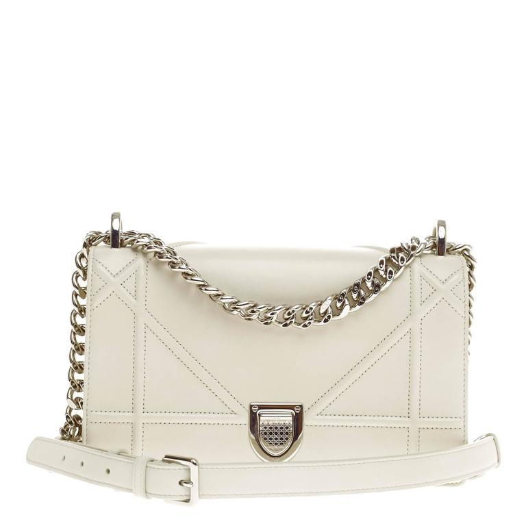 6d447bea4d Christian Dior Diorama Flap Bag Calfskin Small