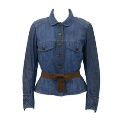 2000's Alexander Mcqueen Denim Jacket