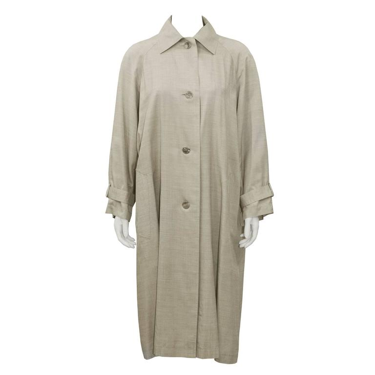 1960's Christian Dior Beige Trench