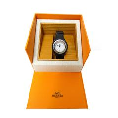 "1996 Hermes ""Harnais"" Gator Strap Wrist Watch"