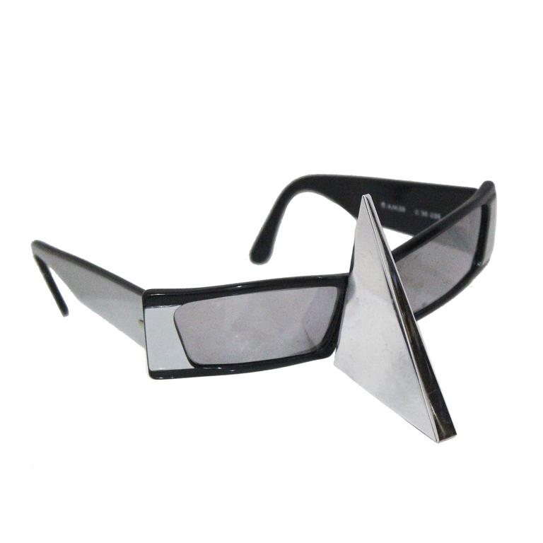 Sunglasses With Nose Protection  alain mikli nose shield sunglasses c 1988 for at 1stdibs