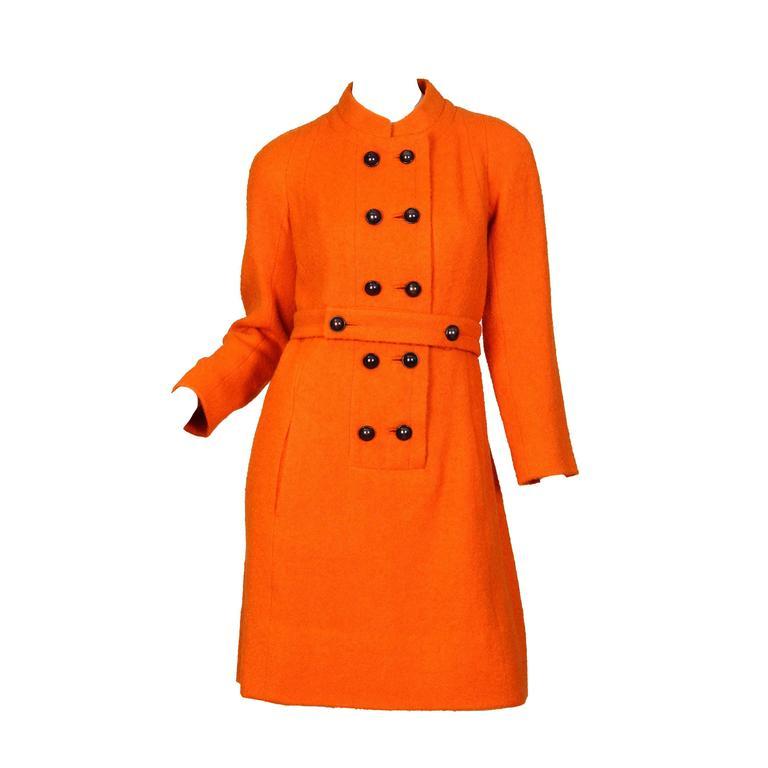 1960s Galanos Mod Dress