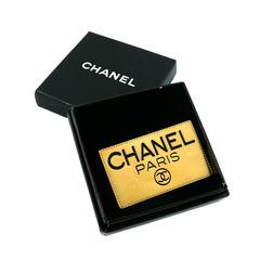 Chanel Vintage Logo Brooch