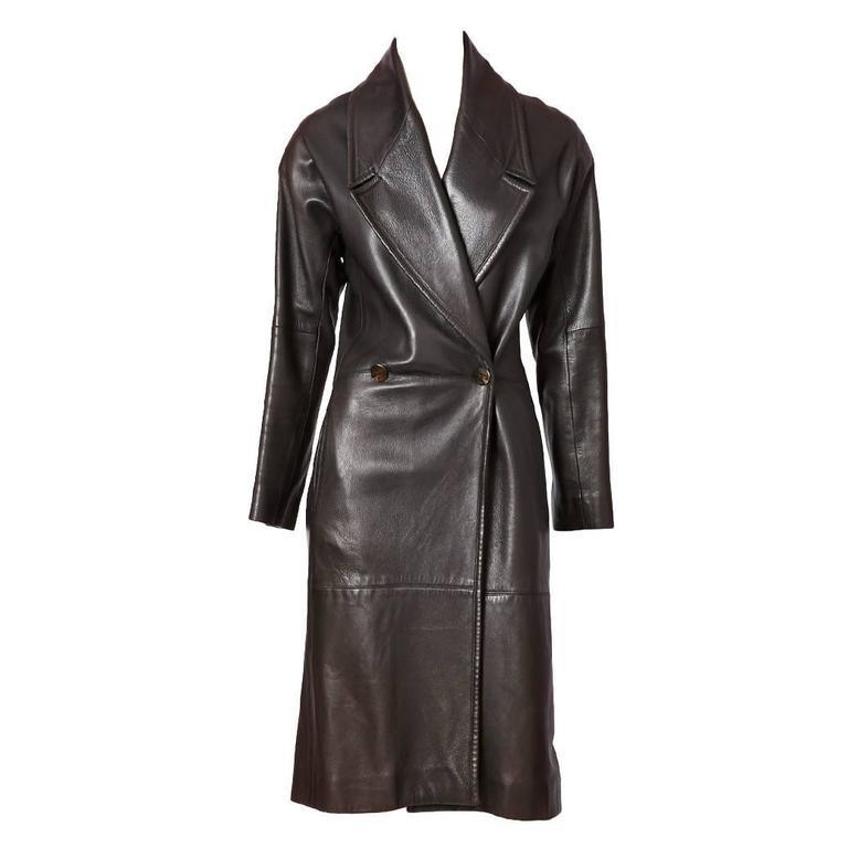 Ronaldus Shamask leather Coat