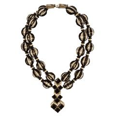 An Art Deco Inspired Necklace by William DeLillo