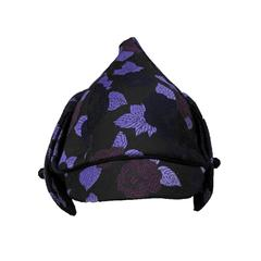 Dior Purple Floral Hat