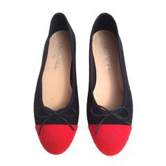 Chanel Ballerina Flats - Size 38 New in Box