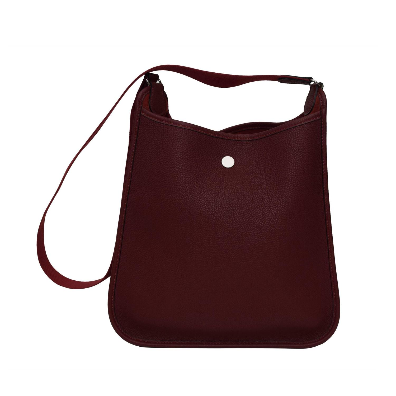 hermes bags cost - Hermes Vespa PM in Wine Red Color Shoulder Bag at 1stdibs