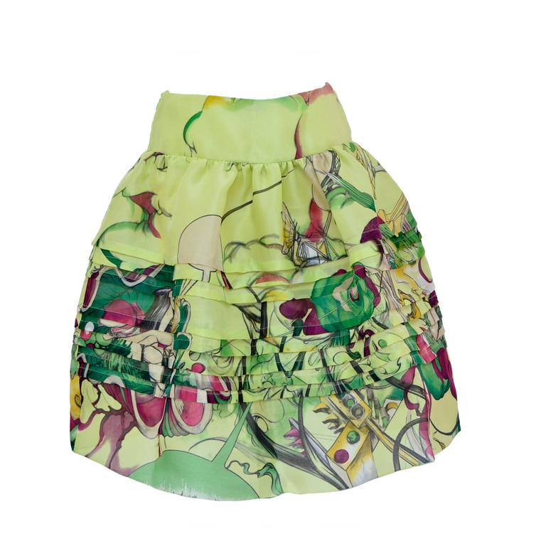 Prada Fairy 2008 Collection  Skirt  New Size 40 1