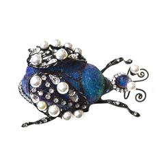 Lawrence Vrba Large Bug Brooch