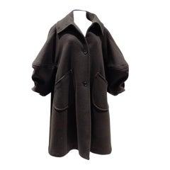 1990s Isaac Mizrahi Oversized Batwing Coat
