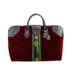 1960s Roberta DiCamerino Iconic Velvet Shoe Bag