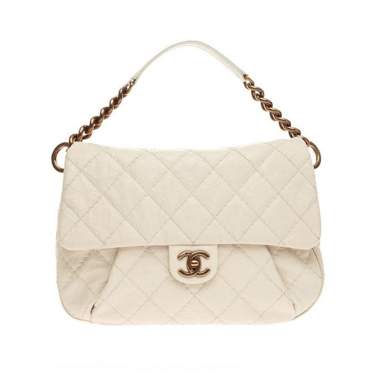 ab13b245b9d2bd Chanel Coco Pleats Messenger Quilted Calfskin at 1stdibs