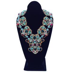 Incredible One-Off William de Lillo Mughal Style Necklace
