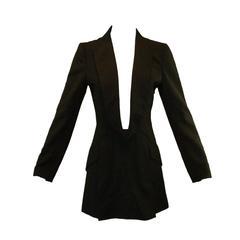 Alexander McQueen Museum Savage Beauty S/S 1998 Untitled Tuxedo Dress