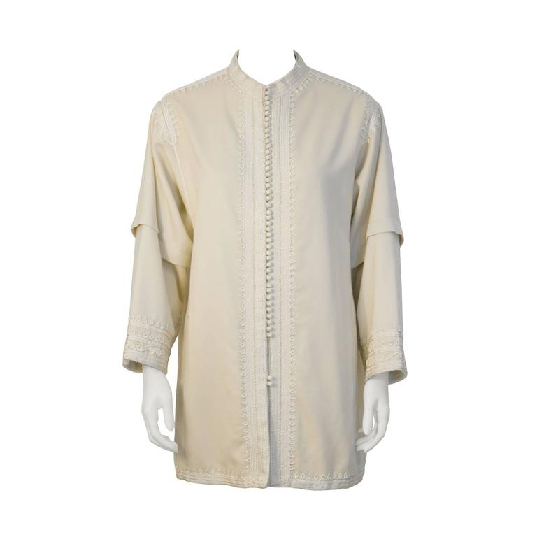 Anonymous Cream Moroccan Jacket