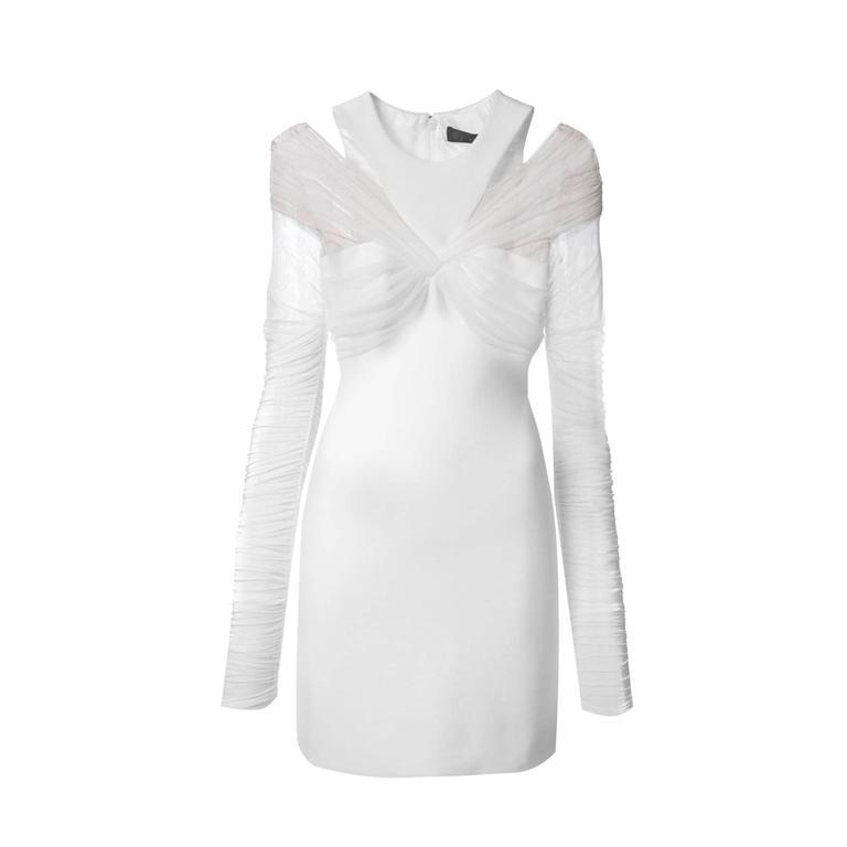 Versace White mini dress 1