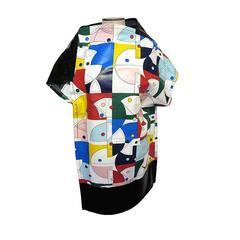 NEW Spring 2015 Junya Watanabe Comme des Garçons Abstract Asymmetrical Tunic