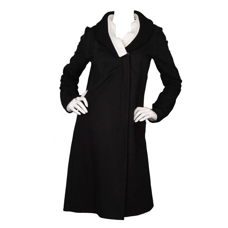 Maison Martin Margiela Black & White Cotton Jacket sz 44 1
